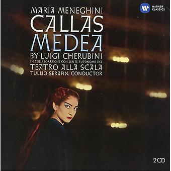 Cherubini/Callas/Scotto/Picchi/Chorus - Medea (1960) [CD] USA import