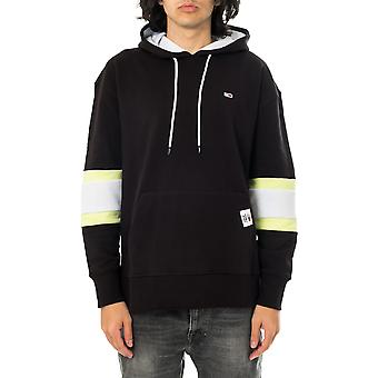 Sweat-shirt homme tommy jeans tjm rwb hoodie dm0dm10657.bds