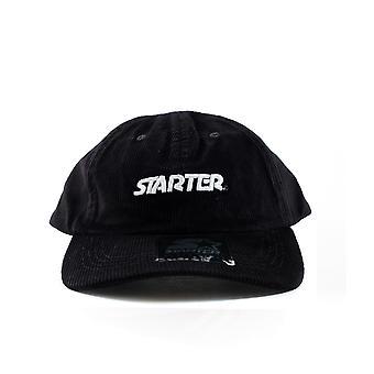 Unissex starter pai chapéu veludo preto st0051