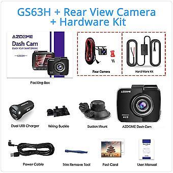 Dash Cam Dual Lens 4k Uhd