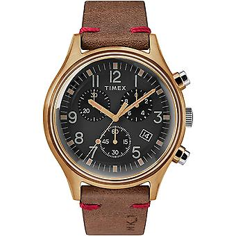 Montre Timex Chronograph Leather Mens TW2R96300