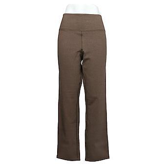 Women with Control Women's Pants Reversible W/ Slim Leg Brown A390041