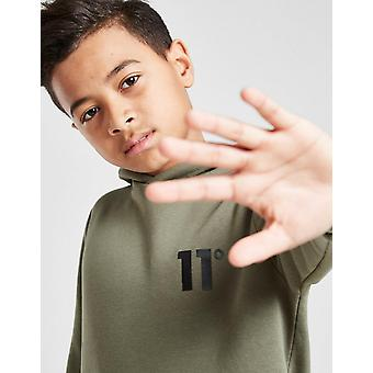 New 11 Degrees Boys' Core Fleece Overhead Hoodie from JD Outlet Green