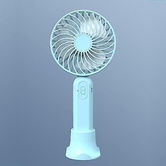 Mini fan hængende hals håndholdt opladning usb børsteløs mute mobiltelefon beslag
