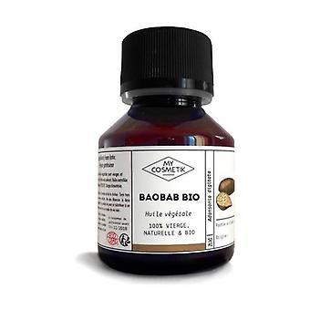 Cosmetic organic Baobab vegetable oil 50 ml of oil