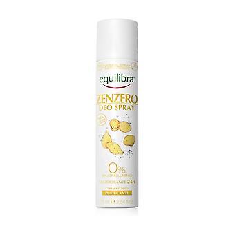 Ginger spray deodorant 75 ml