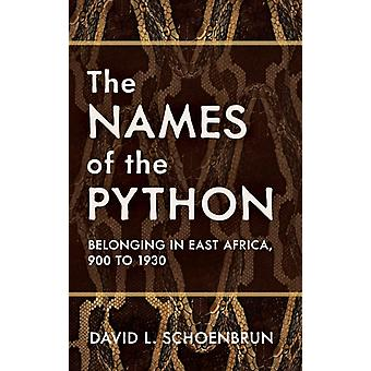 David L. Schoenbrun: The Names of the Python