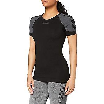 hummel - First Comfort SS Wo jer T-shirt, Woman, First Comfort SS Wo Jer, Black, XL/XXL