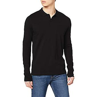 SELECTED HOMME Slhmilano LS Polo B T-Shirt, Black, S Woman