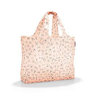 Reisenthel mini maxi beachbag Beach bag, 62 cm, 40 liters, Beige (Cats and Dogs Rose)