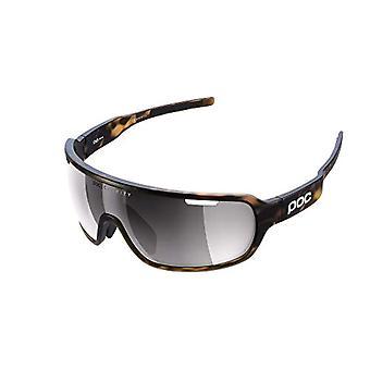 POC Do Blade Sunglasses, Unisex-Adult, Tortoise Brown/Brown, VSI