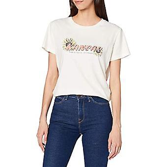 Lee Kansas Graphic Tee T-Shirt, Shark Tooth, L Woman