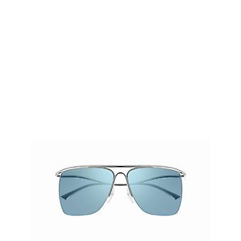 Balenciaga BB0092S silver unisex sunglasses