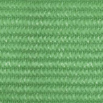 tenda vidaXL 160 g/m² Verde chiaro 3x4,5 m HDPE