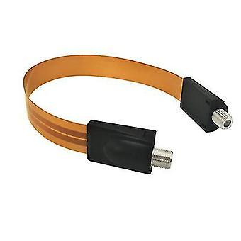 黄色フラット fcoaxlal cabl 女性から女性へのアダプター TV 監視アンテナ接続 az499