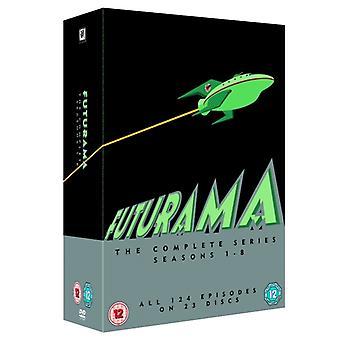Futurama Season 1-8 DVD