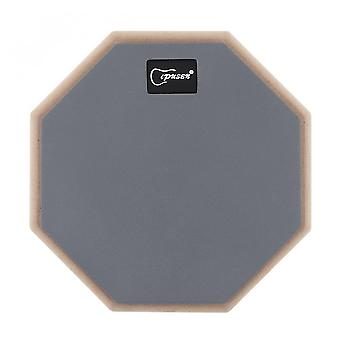 8 Inch rubber wooden dumb drum practice training drum pad for jazz drums exercise for percussion instruments parts & accessories