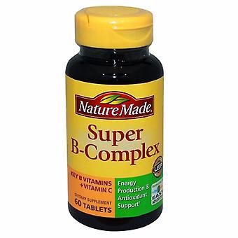 Nature Made Super B-Complex, 60 Tabs