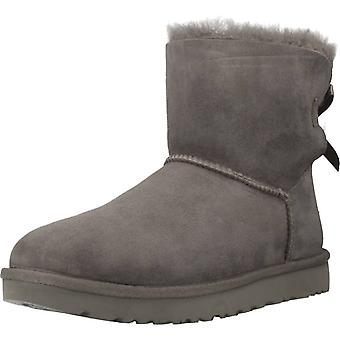 Ugg Boots Ugg Mini Bow Couleur Gris