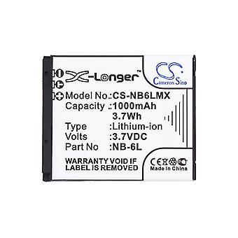 Cameron Sino Nb6Lmx Battery Replacement For Canon Camera