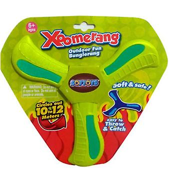 Returning Boomerang,soft Boomerang For Athletes, For Sports Game Toy To Beginners(GREEN)