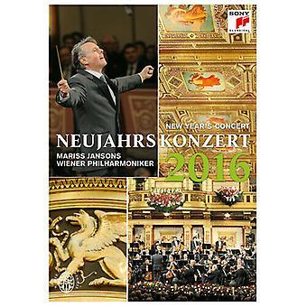 Nieuwjaarsconcert 2016 - Wiener Philharmoniker (Jansons) DVD (2016) Mariss Region 2