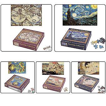 1000 szt/ zestaw Diy Puzzle Słynny obraz World Art Malarstwo olejne