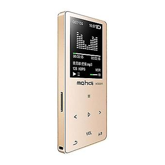 Tallennin FM Video 4G/8G/16G R Music Player(Golden)