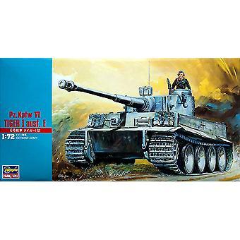 Pz.Kpfw IV TIGER I ausf. E (81 Pieces) [Kit]