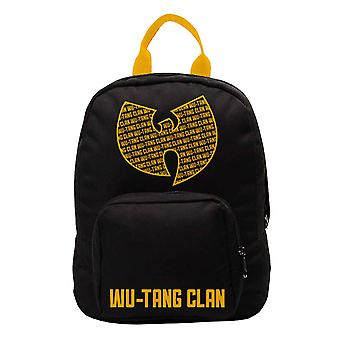 Wu Tang Clan Backpack Bag Aint Nuthing Band Logo new Official Black Small