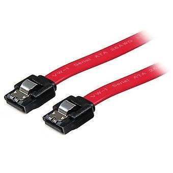StarTech.com cable SATA de 45 cm con bloqueo, 0,457 m, SATA III, SATA de 7 pines, SATA de 7 pi