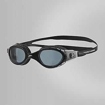 Speedo Futura Biofuse Flexiseal Swimming Goggles Smoked Lense - Black