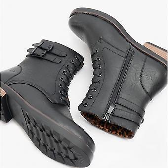 Heavenly Feet Elm Ladies Ankle Boots Black