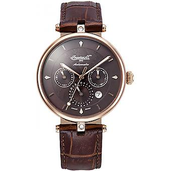 Ingersoll Brown Genuine Leather IN1318RBR Women's Watch