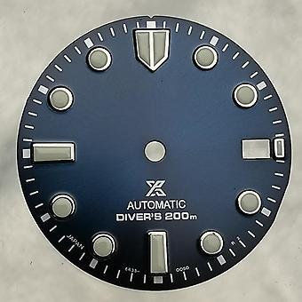 Katso Nh35/36-automaattiseen liikkeeseen sopiva kellotaulu 28,5 mm:n kellotaulu
