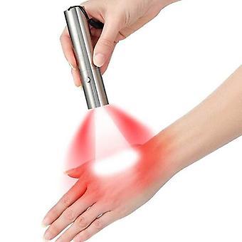 Punainen infrapuna valo hoitolaite kädessä pidettävä lamppu kehon iho anti-aging kivunlievittäjä