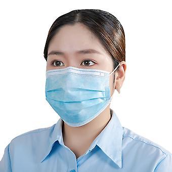 50/100/200pcs Máscara desechable 95 Meltblown Adulto Máscara protectora respiratoria de tres capas