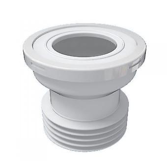 """110mm 4"""" inodoro WC recto residuos bandeja goma conector para utensilios de aseo"""