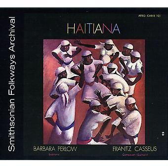 Frantz Cassus & Barbara Perlow - importer des USA Haitiana [CD]