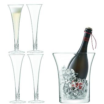 LSA International Prosecco Serving Set - Clear