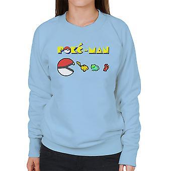Pokemon Poke Man Women's Sweatshirt