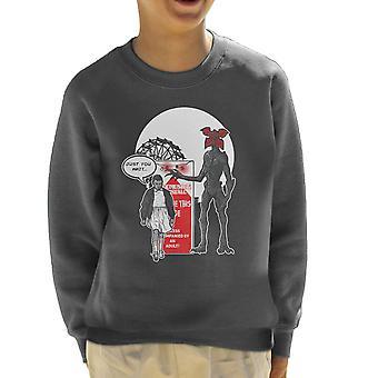 Stranger Ride Themepark Things Kid's Sweatshirt