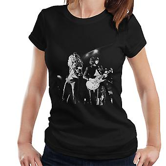 LED t-shirt Zeppelin Jimmy pagina Robert Plant Cardiff Capitol Theatre 1972 donna