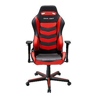 DX Racer DXRacer Drifting Series OH/DM166/NR High-Back Office Chair Gaming Chair Guest Chair(Black/Red)