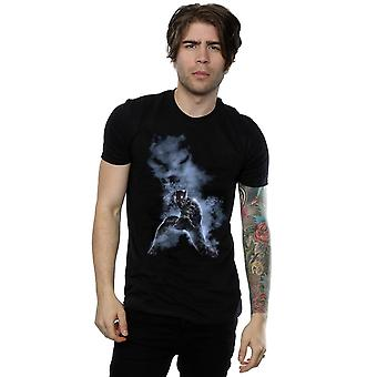 Cud, że męska Czarna Pantera pali T-Shirt