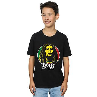 Bob Marley Boys Logo Badge T-Shirt