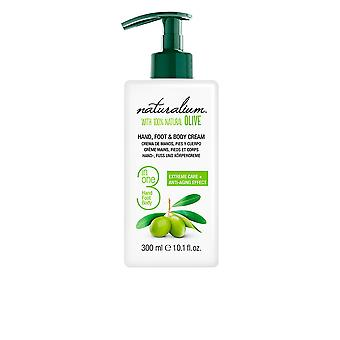 Naturalium Oliva 100% Hand, fot & Body Cream 50 Ml Unisex