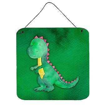 Tyrannosaurus Rex acquerello parete o porta appeso stampe