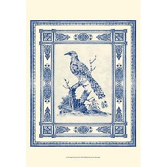 Small Toile de Jouy II (P) Poster Print by Vision studio (13 x 19)