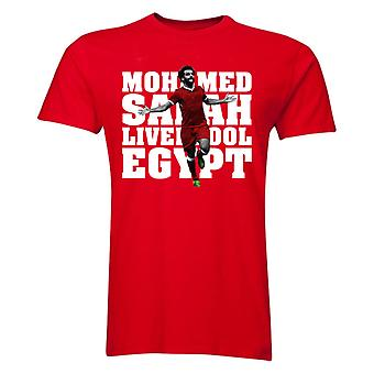 Mohamed Salah Liverpool Player t-shirt (Red) - bambini